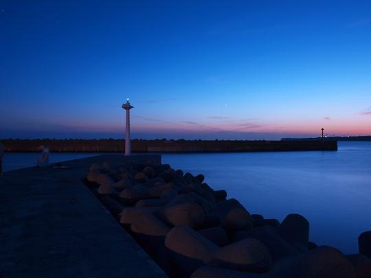 銚子マリーナ堤防