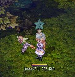 森の妖精と共に