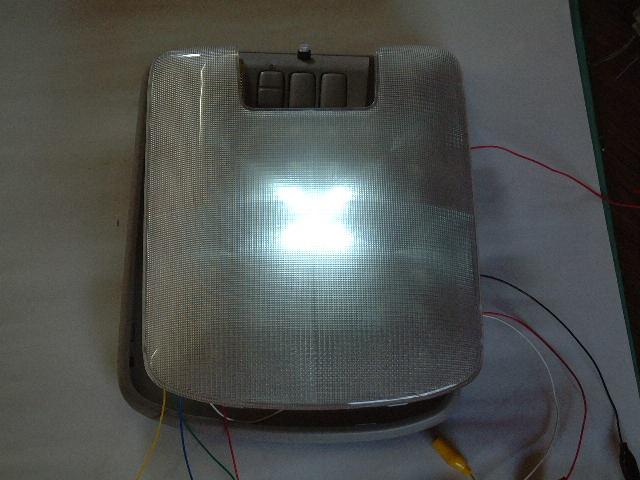 LED白 中央