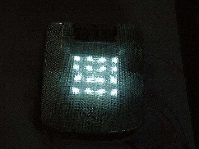 LED白2周点灯