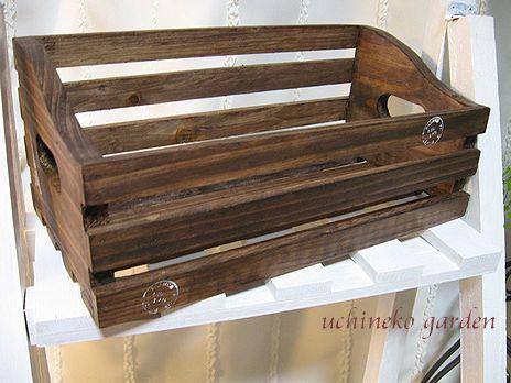 セリアの木製BOX