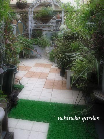 ベランダ 東側ガーデン