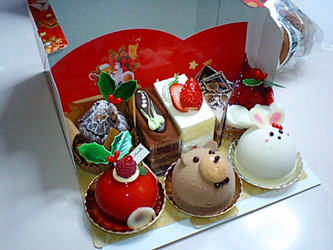 ケーキ中身