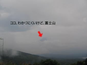 ビミョーな富士山