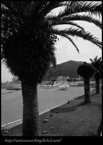 熱海のサンビーチだよ。。。(^。^)