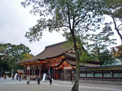 八坂神社 本堂