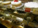 チーズケーキファクトリーのウィンドウ
