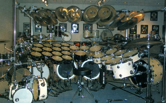Terry Bozzio Drum Kit