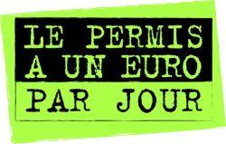 le permis a un euro par jour