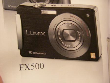Panasonic  FX500