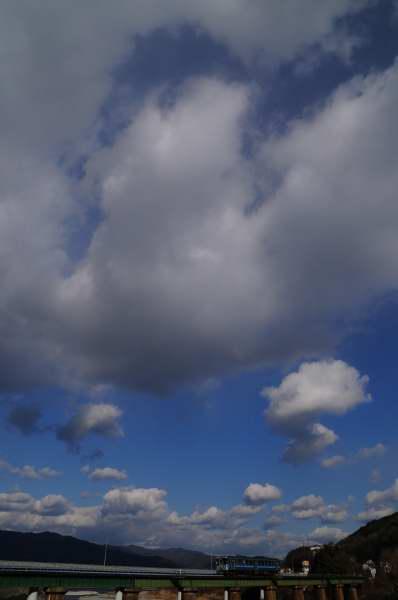 力こぶな雲