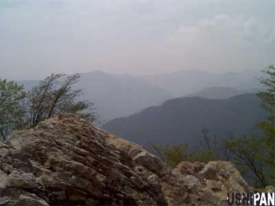 川乗山山頂1