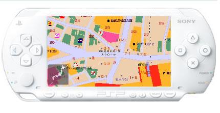 みんなの地図【PSP】