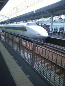 古い新幹線