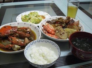 9/25の夜飯