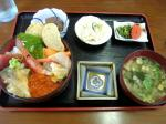 浦河の海鮮丼