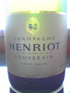 アンリオ シャンパン