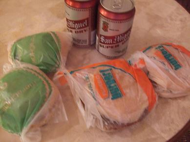 セブ島・ハンバーガー