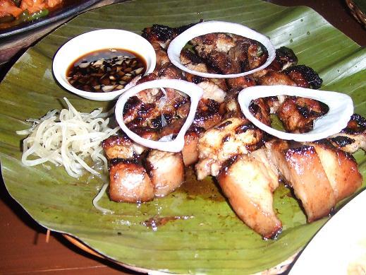 セブ島・マリバゴグリル・食べ物3