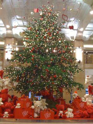 Christmas Tree at Takashimaya