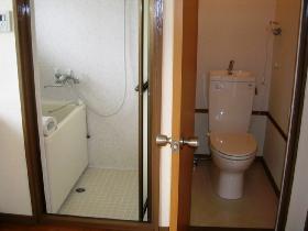 大澤ビル201 お風呂とトイレ_280