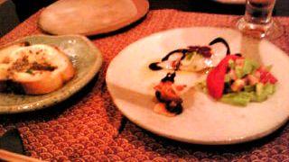前菜とカナッペ