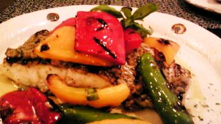 真鯛と彩り野菜のグリル