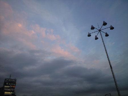 この空のグラデーション