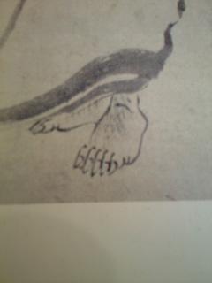 足の爪~~