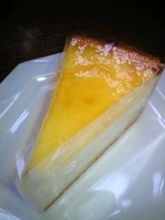 じゃ~ん デリチュースの極上チーズケーキ
