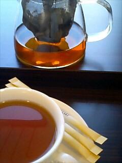 それとも紅茶か?