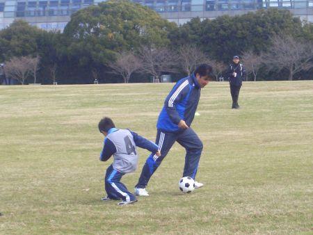 永島選手と