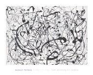 ポロックの抽象画