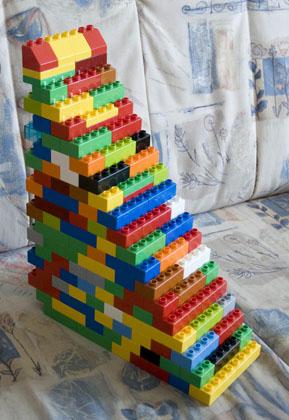 Lego Treppe