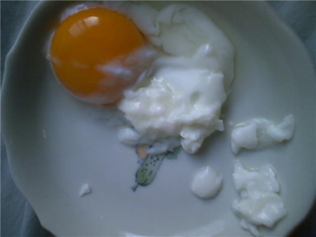 ゆで卵 生前