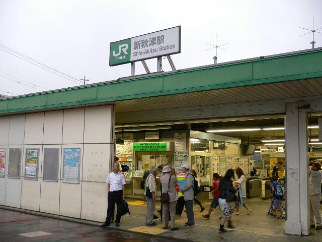 JR新秋津駅。。