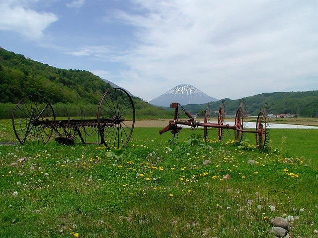 美笛の牧場