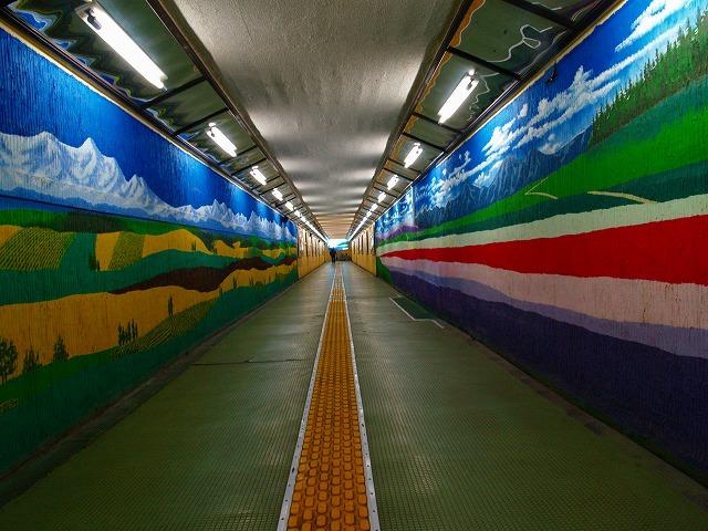 旭川駅の連絡通路