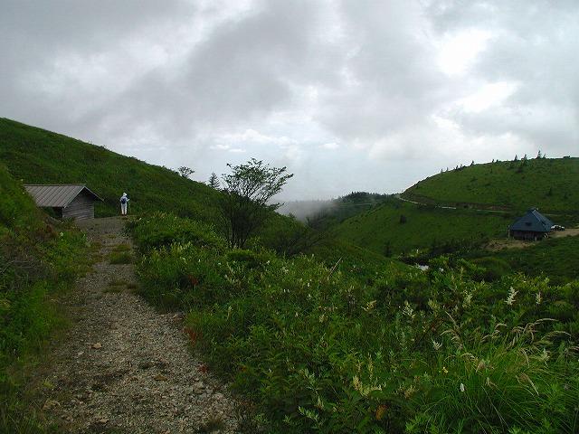 鉢伏山登り口