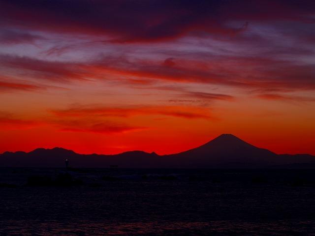 モリデニ富士4(シルエット)