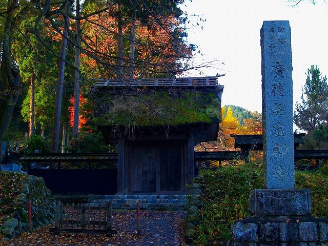 広徳寺 総門