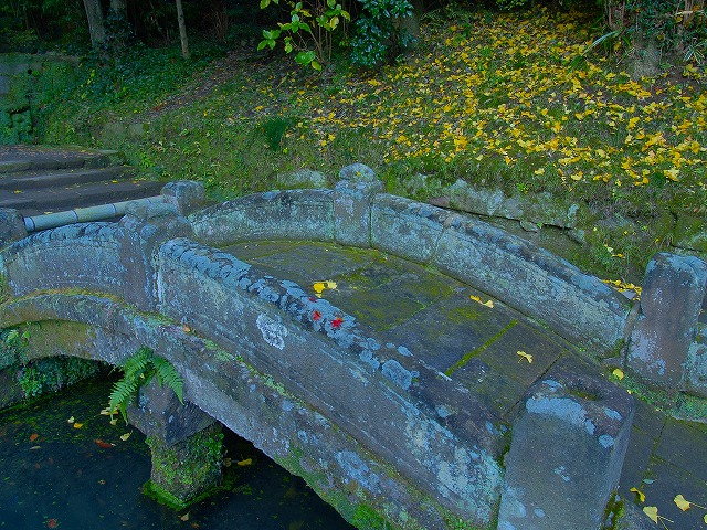 浄智寺のたいこ橋