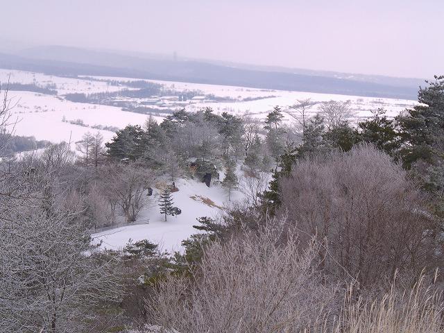 野辺山雪景