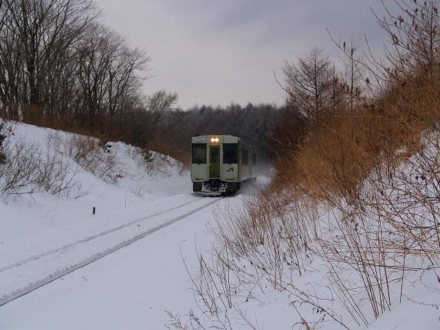 冬の小海線1