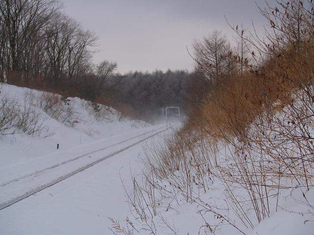 冬の小海線2
