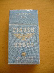 たばこ型チョコ