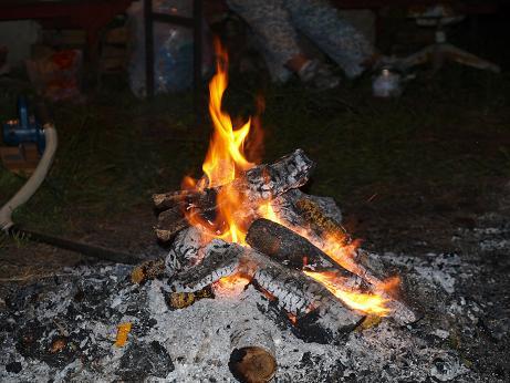 041 焚き火