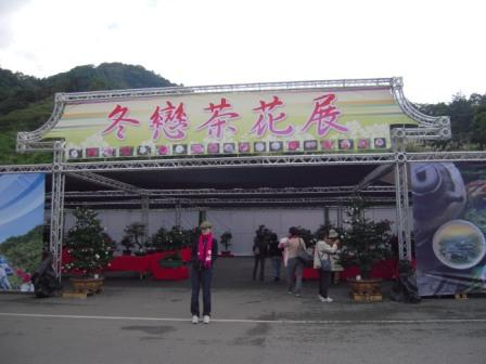 坪林ー茶花展5