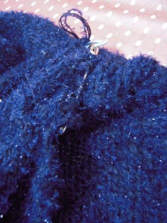 編み物14