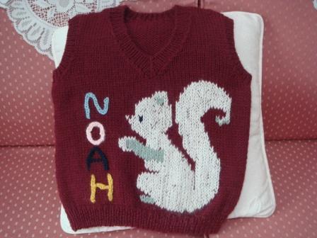 編み物23